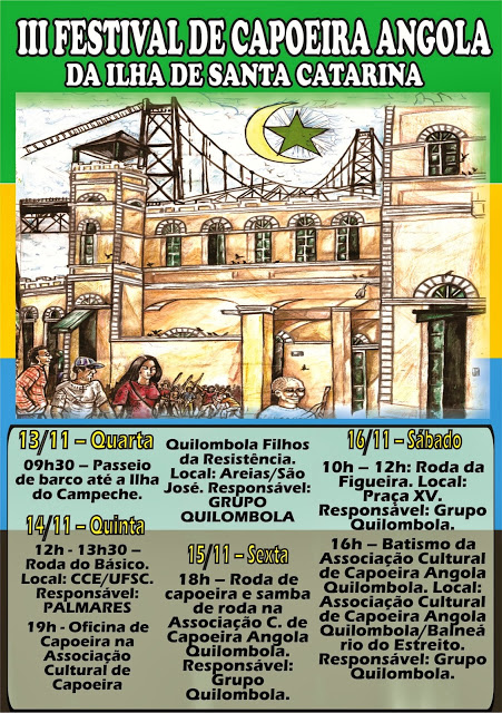 Folder - III Festival Capoeira 02